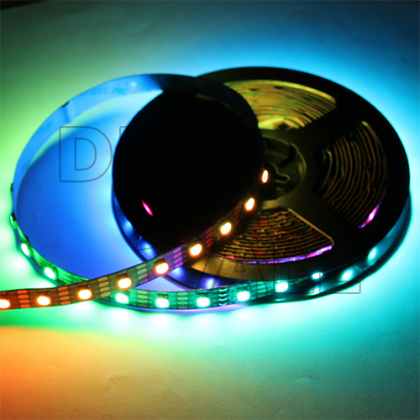 Digital LED-Stripe RGB SK9822 60BL