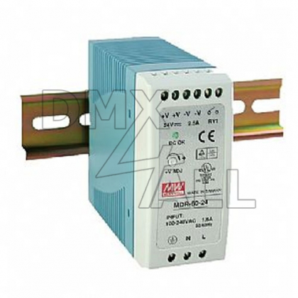 DIN-Rail Power Supply 12V/60W (5A)